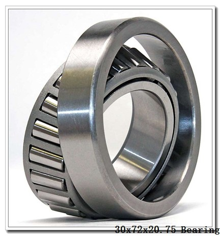 30 mm x 72 mm x 19 mm  NACHI H-E30306J tapered roller bearings