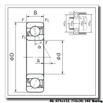 66,675 mm x 112,712 mm x 30,162 mm  Timken 39591/39520 tapered roller bearings