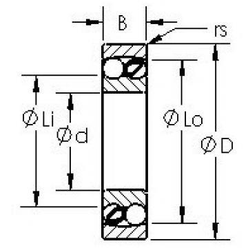 AST 1216 self aligning ball bearings