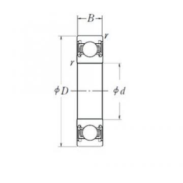 45 mm x 58 mm x 7 mm  NSK 6809DD deep groove ball bearings