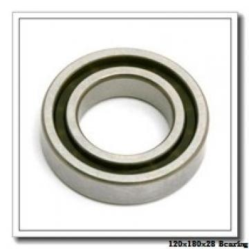 120 mm x 180 mm x 28 mm  FAG B7024-E-T-P4S angular contact ball bearings