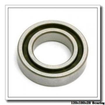 120 mm x 180 mm x 28 mm  KOYO HAR024C angular contact ball bearings