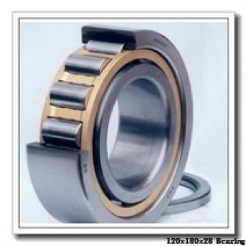 120 mm x 180 mm x 28 mm  NACHI 7024DB angular contact ball bearings
