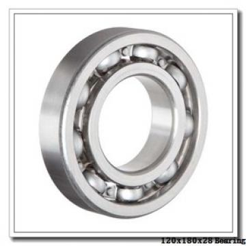 120 mm x 180 mm x 28 mm  KOYO N1024K cylindrical roller bearings
