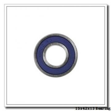 15 mm x 42 mm x 13 mm  NSK 7302 B angular contact ball bearings
