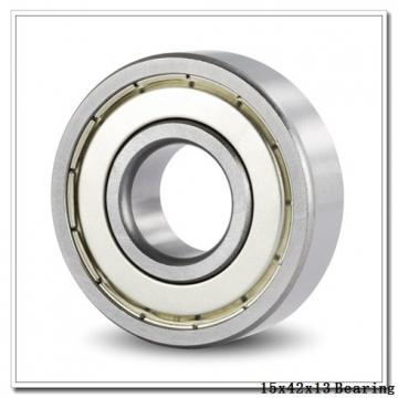 15 mm x 42 mm x 13 mm  KOYO 7302 angular contact ball bearings