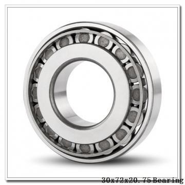 30 mm x 72 mm x 19 mm  ISB 30306 tapered roller bearings