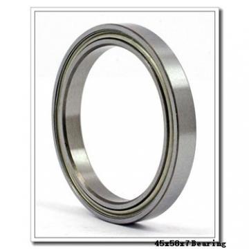 45 mm x 58 mm x 7 mm  NACHI 6809 deep groove ball bearings
