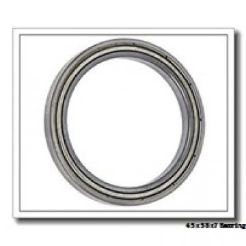 45 mm x 58 mm x 7 mm  KOYO 6809-2RS deep groove ball bearings