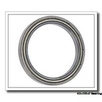 45 mm x 58 mm x 7 mm  NSK 6809NR deep groove ball bearings