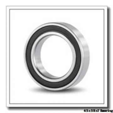 45 mm x 58 mm x 7 mm  NSK 6809ZZ deep groove ball bearings