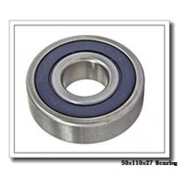 50 mm x 110 mm x 27 mm  NACHI 7310 angular contact ball bearings