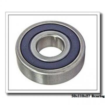50 mm x 110 mm x 27 mm  NSK 7310 A angular contact ball bearings