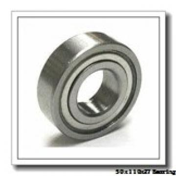 50 mm x 110 mm x 27 mm  NTN QJ310 angular contact ball bearings