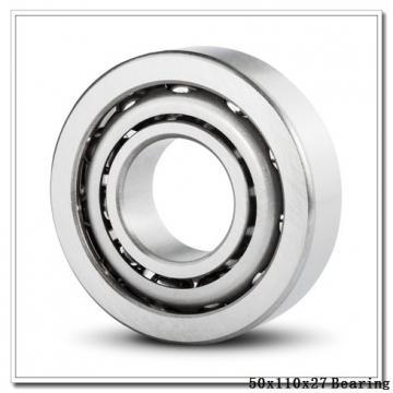 50 mm x 110 mm x 27 mm  NACHI 7310CDB angular contact ball bearings