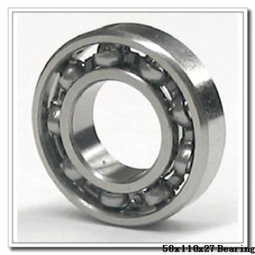 50 mm x 110 mm x 27 mm  NSK QJ310 angular contact ball bearings