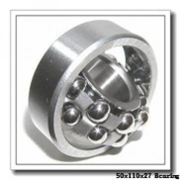 50 mm x 110 mm x 27 mm  NTN 7310DF angular contact ball bearings