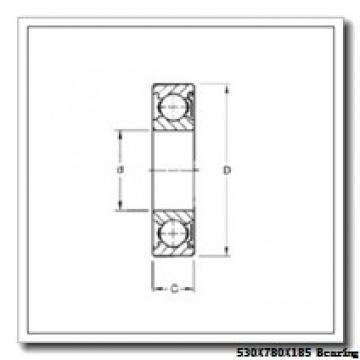 530 mm x 780 mm x 185 mm  NKE 230/530-K-MB-W33 spherical roller bearings