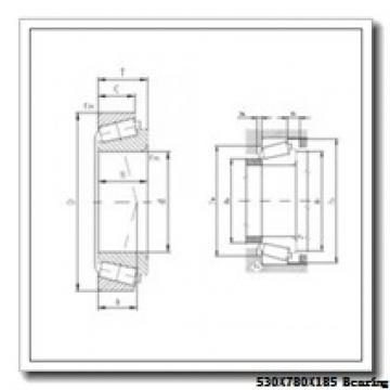 530 mm x 780 mm x 185 mm  NACHI 230/530E cylindrical roller bearings