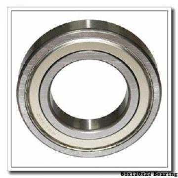 65 mm x 120 mm x 23 mm  NTN QJ213 angular contact ball bearings