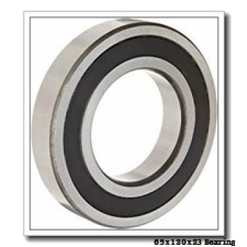 65 mm x 120 mm x 23 mm  ISO 7213 B angular contact ball bearings