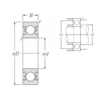 65 mm x 120 mm x 23 mm  NTN 6213LLB deep groove ball bearings