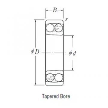 65 mm x 120 mm x 23 mm  FBJ 1213K self aligning ball bearings
