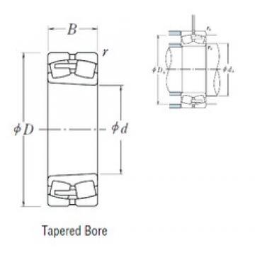530 mm x 780 mm x 185 mm  NSK 230/530CAKE4 spherical roller bearings