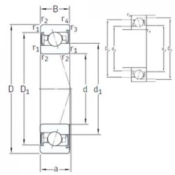 120 mm x 180 mm x 28 mm  SNFA VEX 120 /S/NS 7CE3 angular contact ball bearings