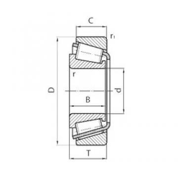 PFI 39590/20 tapered roller bearings