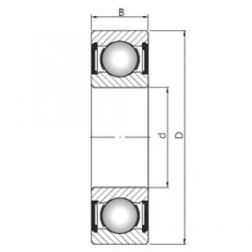 80 mm x 140 mm x 26 mm  Loyal 6216 ZZ deep groove ball bearings