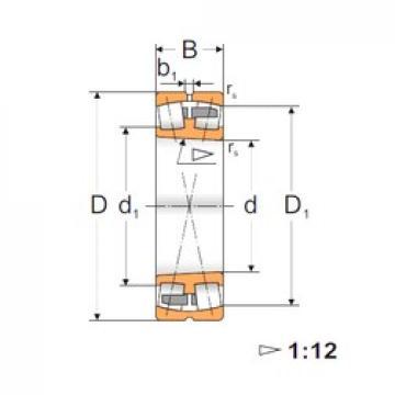190 mm x 340 mm x 92 mm  FBJ 22238K spherical roller bearings