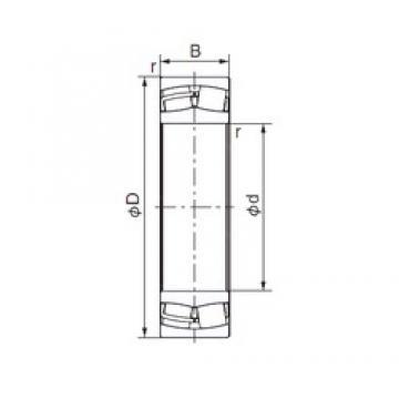 50 mm x 110 mm x 27 mm  NACHI 21310E cylindrical roller bearings