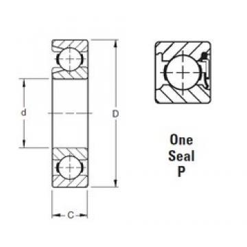 65 mm x 120 mm x 23 mm  Timken 213WNP deep groove ball bearings