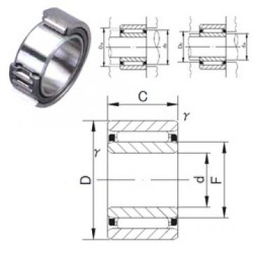 80 mm x 110 mm x 30 mm  JNS NAF 8011030 needle roller bearings