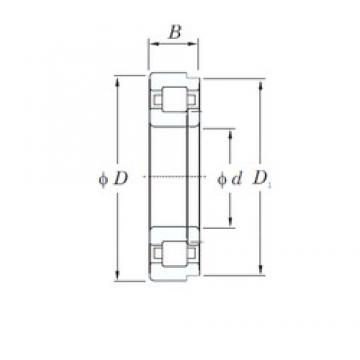 50 mm x 110 mm x 27 mm  KOYO NUP310 cylindrical roller bearings