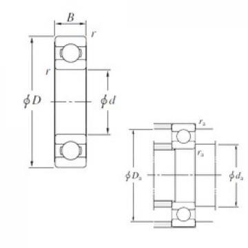 170 mm x 310 mm x 52 mm  KOYO 6234 deep groove ball bearings