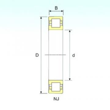 65 mm x 120 mm x 23 mm  ISB NUP 213 cylindrical roller bearings