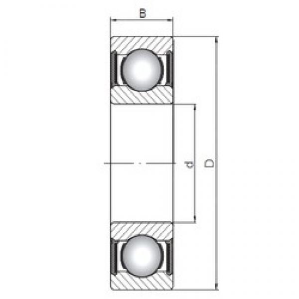 65 mm x 120 mm x 23 mm  ISO 6213-2RS deep groove ball bearings #3 image