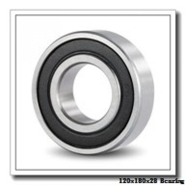 120 mm x 180 mm x 28 mm  KOYO 7024CPA angular contact ball bearings #2 image