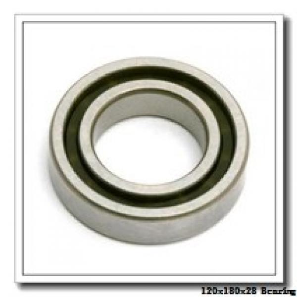120 mm x 180 mm x 28 mm  NKE 6024 deep groove ball bearings #1 image