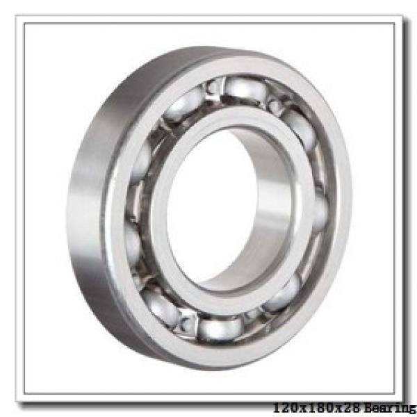 120 mm x 180 mm x 28 mm  KOYO 3NCHAR024C angular contact ball bearings #1 image