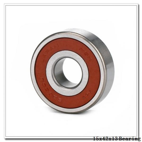 15 mm x 42 mm x 13 mm  NACHI 7302CDF angular contact ball bearings #1 image