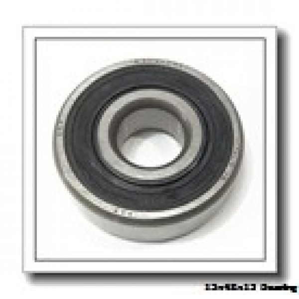 15,000 mm x 42,000 mm x 13,000 mm  NTN 6302ZZNR deep groove ball bearings #1 image
