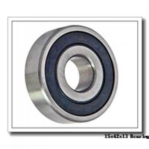 15 mm x 42 mm x 13 mm  NKE 7302-BE-TVP angular contact ball bearings #1 image