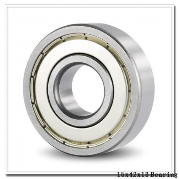 15 mm x 42 mm x 13 mm  ZEN S6302 deep groove ball bearings #1 image