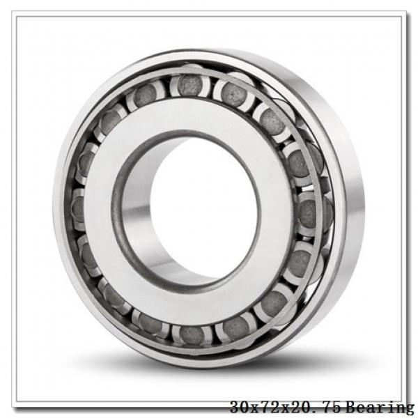 30 mm x 72 mm x 19 mm  NSK 30306CN tapered roller bearings #2 image