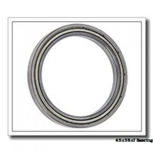 45 mm x 58 mm x 7 mm  NSK 6809NR deep groove ball bearings #1 image