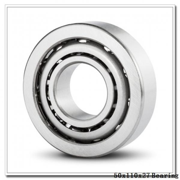 50 mm x 110 mm x 27 mm  NKE NUP310-E-MPA cylindrical roller bearings #1 image