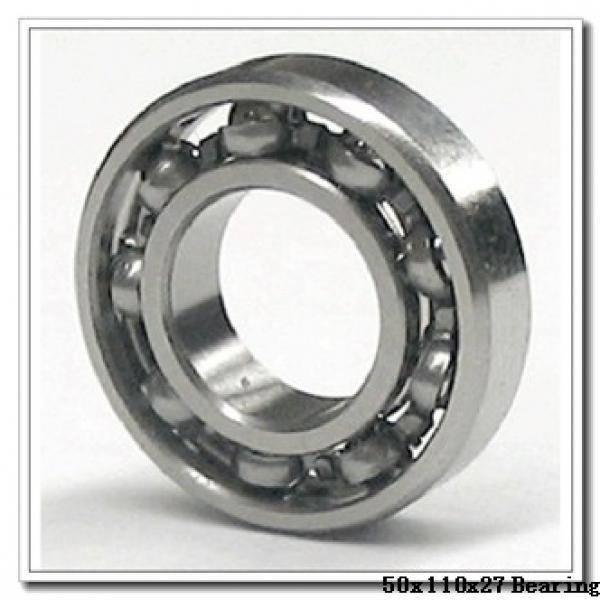 50 mm x 110 mm x 27 mm  NTN 7310DF angular contact ball bearings #2 image